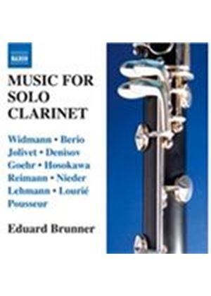Music for Solo Clarinet (Music CD)