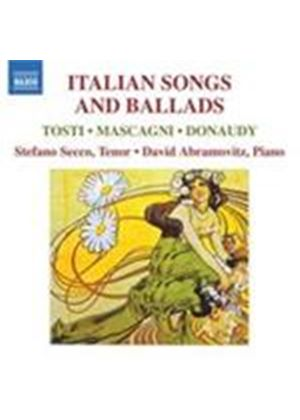 Donaudy; Mascagni; Tosti: Italian Songs and Ballads (Music CD)