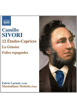 Camillo Sivori: 12 Etudes-Caprices (Music CD)
