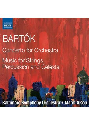 Bartók: Concerto for Orchestra (Music CD)