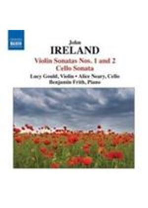 Ireland: Violin Sonatas Nos 1 & 2; Cello Sonata (Music CD)