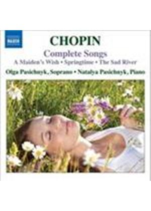 Chopin: Complete Songs (Music CD)