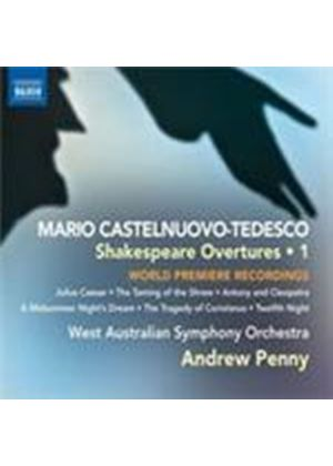 Castelnuovo-Tedesco: Shakespeare Overtures (Music CD)