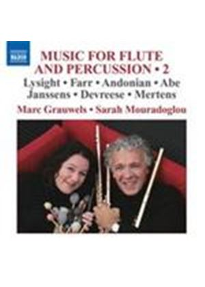 Flute and Percussion Works, Vol 2 (Music CD)