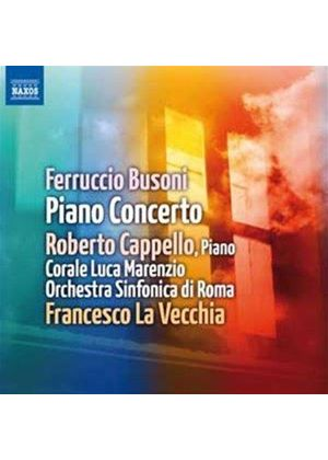 Busoni: Piano Concerto, Op. 39 (Music CD)