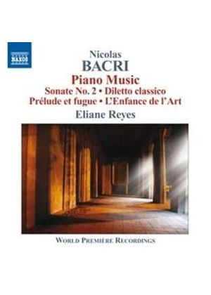 Nicolas Bacri: Piano Music (Music CD)