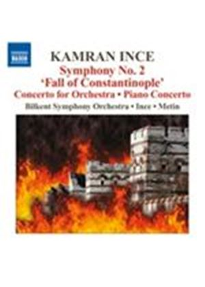 "Kamran Ince: Symphony No. 2 ""Fall of Constantinople"" (Music CD)"
