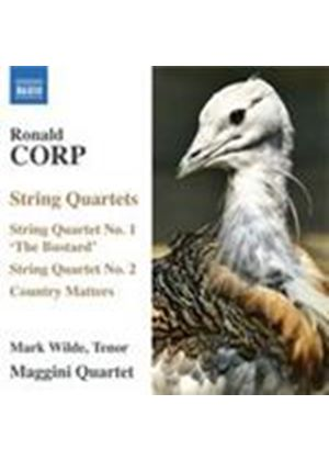 Corp: String Quartets Nos 1 & 2; Country Matters (Music CD)