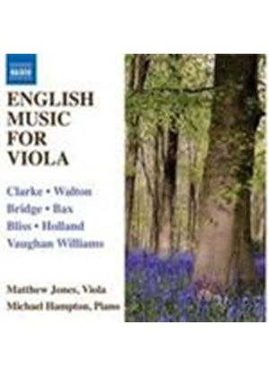 English Works for Viola and Piano (Music CD)