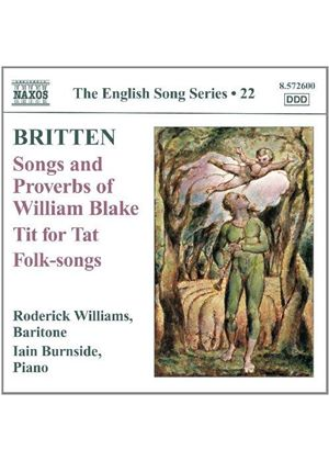 Britten: Songs; Proverbs, Vol. 22 (Music CD)