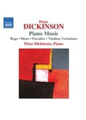 Peter Dickinson: Piano Music (Music CD)