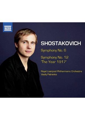"Shostakovich: Symphonies Nos. 6 & 12 ""The Year 1917'"" (Music CD)"