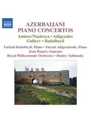 Azerbaijani Piano Concertos (Music CD)