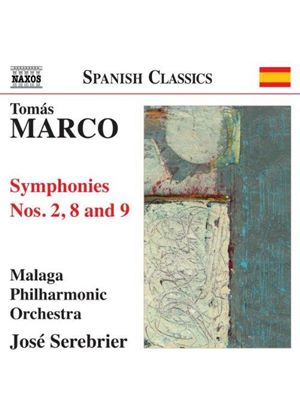 Tomás Marco: Symphonies Nos. 2, 8 and 9 (Music CD)