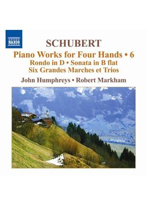 Schubert: Piano Works for Four Hands, Vol. 6 (Music CD)
