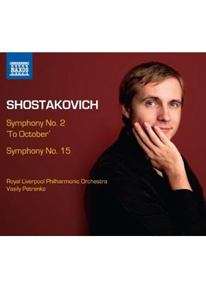 "Shostakovich: Symphonies Nos. 2 ""To October"" & 15 (Music CD)"