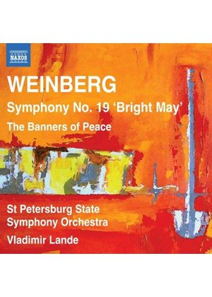 Weinberg: Symphony No. 19; Banners of Peace (Music CD)