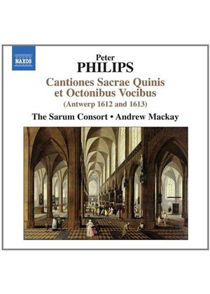 Peter Philips: Cantiones Sacrae Quinis (Music CD)