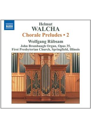Helmut Walcha: Chorale Preludes, Vol. 2 (Music CD)