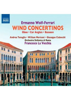 Ermanno Wolf-Ferrari: Concertos for Winds (Music CD)