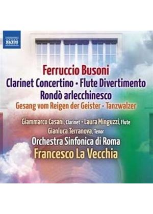 Ferruccio Busoni: Clarinet Concertino (Music CD)
