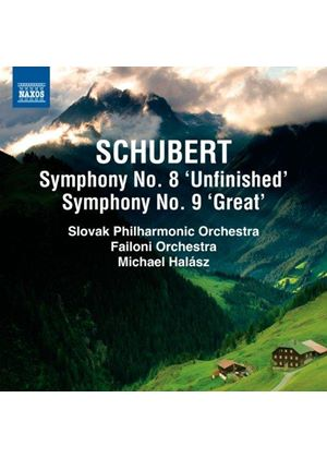 Schubert: Symphonies Nos. 8 & 9 (Music CD)