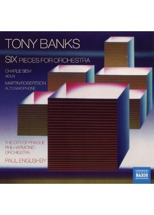Tony Banks: Six pieces for orchestra (Music CD)