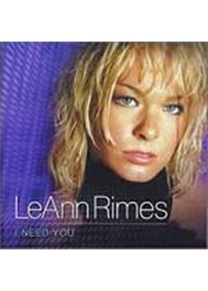 Leann Rimes - I Need You (Music CD)