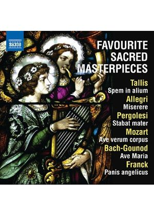 Favourite Sacred Masterpieces (Music CD)