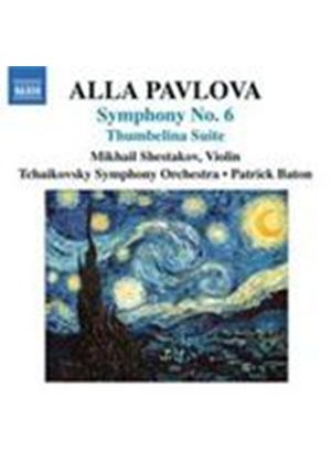 Pavlova, A: Symphony No 6 (Music CD)