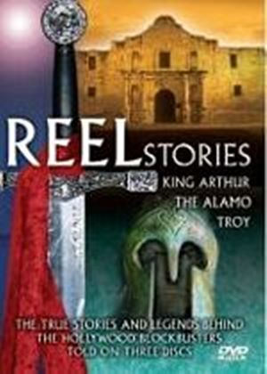 Reel Stories - The Truth Behind Hollywood Blockbusters - Troy, Alamo And Arthur (Three Discs)