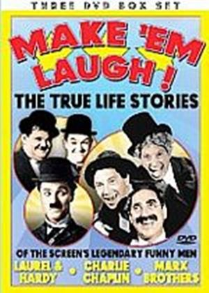Make Em Laugh (Charlie Chaplin, Marx Brothers and Laurel and Hardy) (Three Discs)