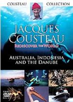 Jacques Cousteau Collection - Australia  Indonesia And The Danube - Rediscover The World - Series 1