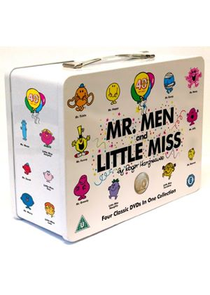 Mr Men And Little Miss Collectible Tin Box Special Edition 4 DVD Box Set