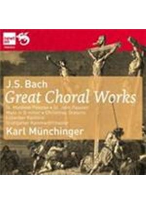 Bach - Great Choral Works (Music CD)