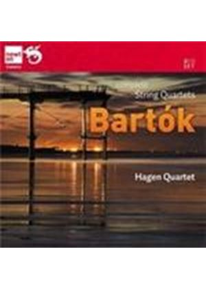 Bartók: String Quartets Nos 1 - 6 (Music CD)