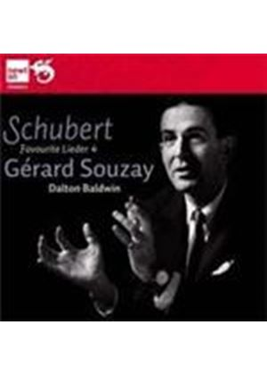 Schubert: Favourite Lieder (Music CD)