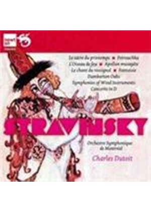 Stravinsky: Famous Ballets (Music CD)