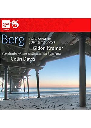 Berg: Violin Concerto 'To the Memory of an Angel'; Three Orchestral Pieces (Music CD)