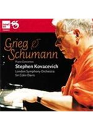 Grieg; Schumann: Piano Concertos (Music CD)