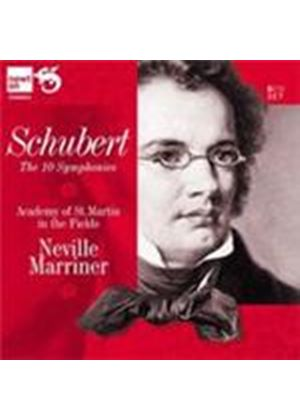 Schubert: Symphonies Nos 1-10 (Music CD)