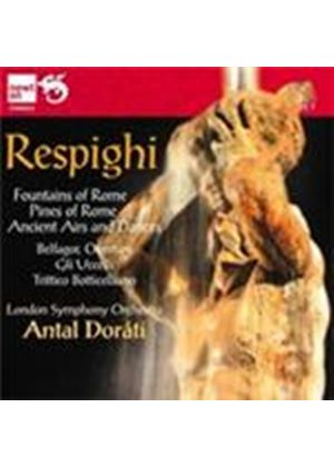 Respighi: Ancient Airs and Dances; (The) Birds; Brazilian Impressions (Music CD)