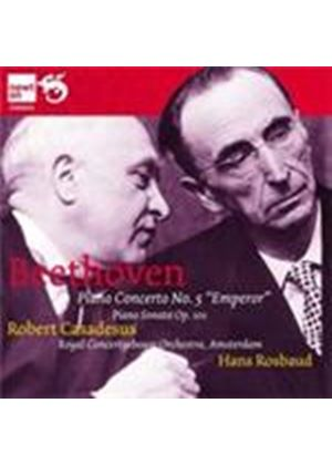 Beethoven: Piano Concerto No 5; Piano Sonata No 28 (Music CD)