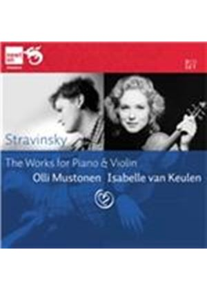 Stravinsky: The Works for Piano & Violin (Music CD)