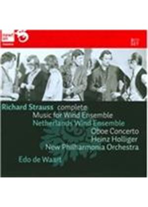 Richard Strauss: Complete Music for Wind Ensemble (Music CD)