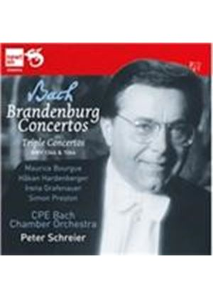 Bach: Brandenburg Concertos; Triple Concertos (Music CD)