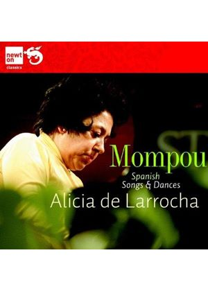 Mompou: Spanish Songs & Dances (Music CD)