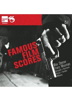 Famous Film Scores by Max Steiner and Franz Waxman (Music CD)