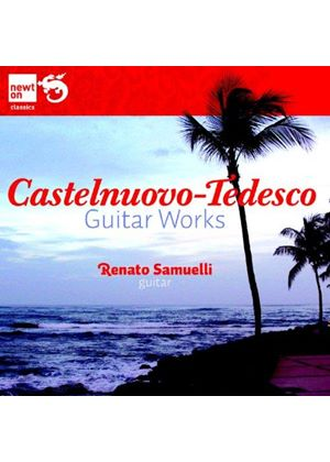 Mario Castelnuevo-Tedesco: Guitar Sonatas (Music CD)