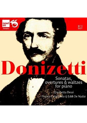 Donizetti: Sonatas and Waltzes (Music CD)